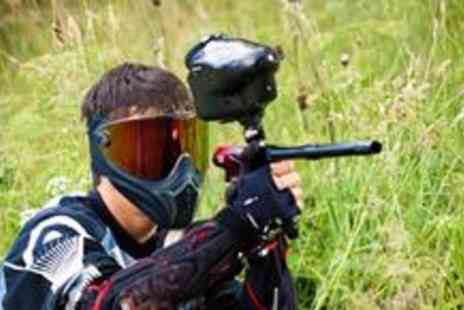 Dangerzone - Full days paintballing for up to ten people, including lunch and 100 paintballs  - Save 96%