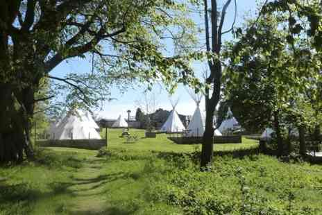 Pinewood Holiday Park  - Tipi Stay For Family of Four - Save 50%