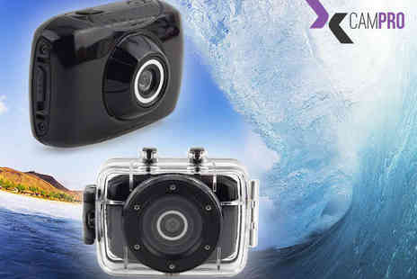 NiftySpot - CAMPRO Sport Action HD Camera - Save 61%