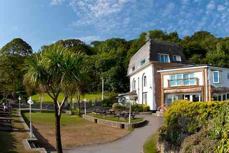 Oxwich Bay Hotel  -  Afternoon Tea & Bubbly for two - Save 50%