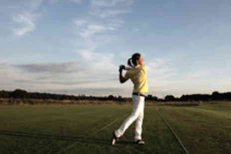 Bishopbriggs Golf Range - A Choice of Golf Lessons Including Trackman Analysis with PGA Professional for One  - Save 63%