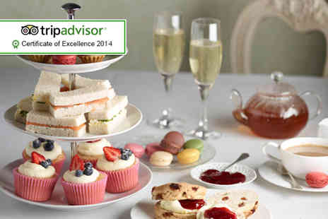 The Grange Manor -  Champagne afternoon tea for two including sandwiches - Save 53%
