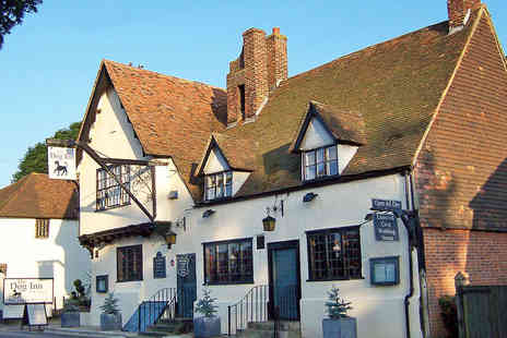 The Dog Inn - One Night Stay for Two People with Breakfast  - Save 59%
