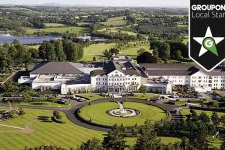 Slieve Russell Hotel - Two Night 4 star Stay For Two With Golf and Afternoon Tea  - Save 48%