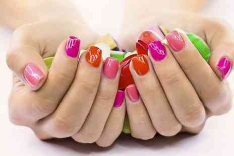 Miss Beauty - Acrylic Nails or Gel Mani and Pedi - Save 52%
