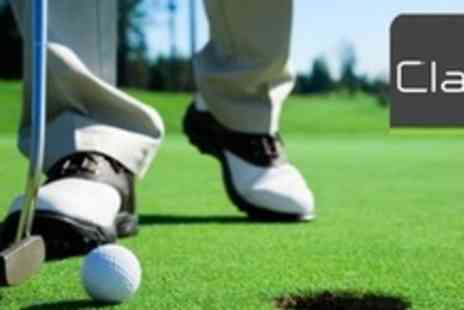 Clays Golf - 18 Hole Game of Mini Golf For Four Plus Putter and Ball Hire - Save 71%