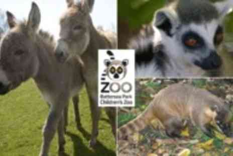 Battersea Zoo -  Battersea Park Childrens Zoo Memberships comes with Lenny the Lemur cuddly toy - Save 50%