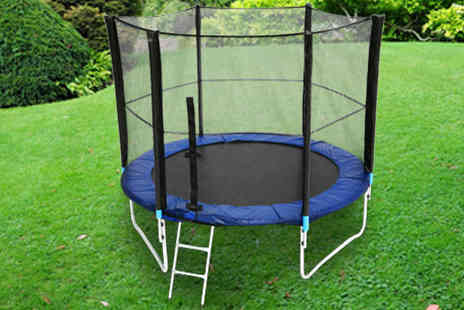 W R SPORTS - Trampoline with Safety Net Enclosure in a Choice of Sizes - Save 40%