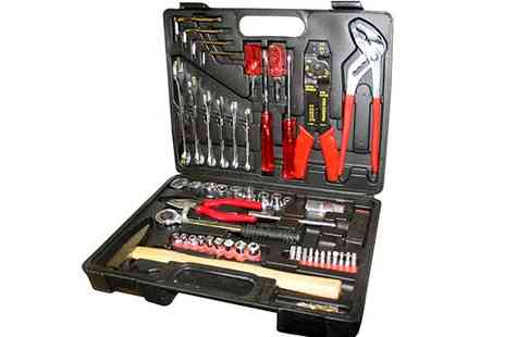 toolcollectionuk direkt2publik - Comprehensive 100 Piece Tool Kit - Save 46%