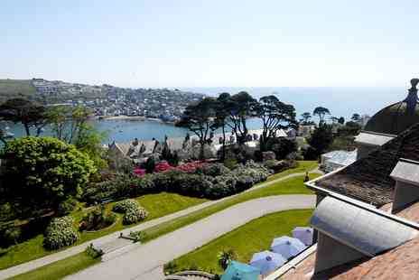 Fowey Hall Hotel - Scenic Spa Day including Massage & Cream Tea - Save 41%