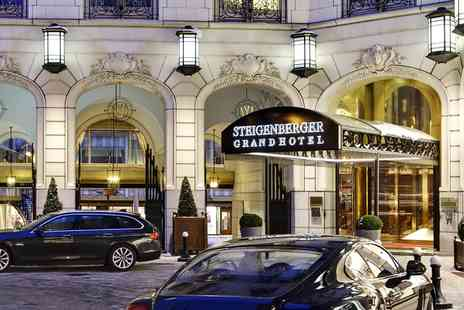 Steigenberger Grandhotel - Overnight stay For two in Brussels - Save 61%