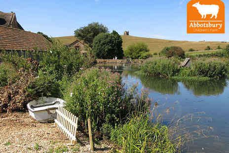 Abbotsbury Children's Farm - Family Day Out to Abbotsbury Childrens Farm Swannery, and Subtropical Gardens - Save 57%