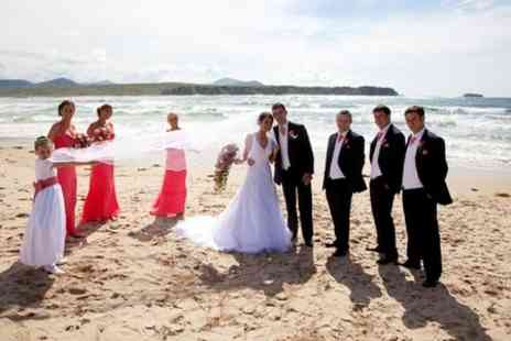 Ballyliffin Lodge - Wedding Package With Four Course Meal, Toast Drink and Evening Buffet - Save 56%