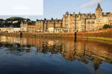 The Oban Caledonian Hotel - Two Night Stay For Two with Breakfast and Bottle of Wine for £129 - Save 57%