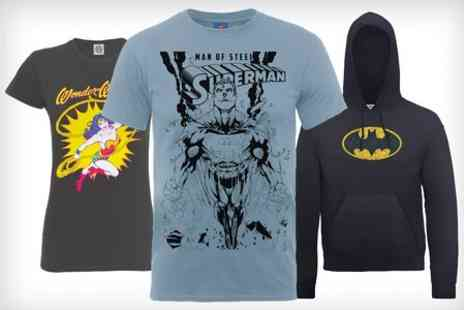 Printed Wardrobe - DC Comics Official T-Shirt or Hoodie  - Save 50%