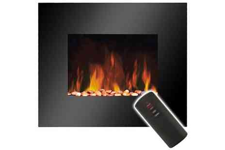 toolcollectionuk direkt2publik - Wall Mounted Fire Effect Heater - Save 50%