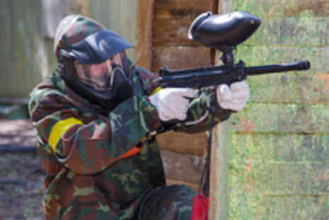 Asylum Paintball - Half Day Indoor Paintball with Equipment and 100 Paintballs - Save 91%