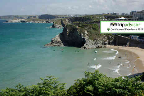 Trebarwith Hotel - One night stay for 2 including a surfing lesson - Save 34%
