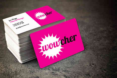 1clickprint -  500 single sided business cards  - Save 83%