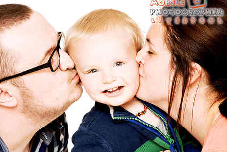 Mobile Photographer - Family Photo Shoot with CD Image - Save 86%