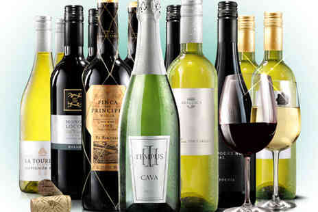 A Sumptuous Selection - 12 Bottle Case of Boutique Wine Including Fizz - Save 61%