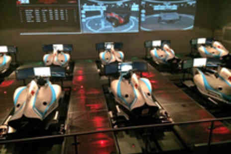 Lets Race - One Hour Racing Car Simulator Experience for One - Save 50%