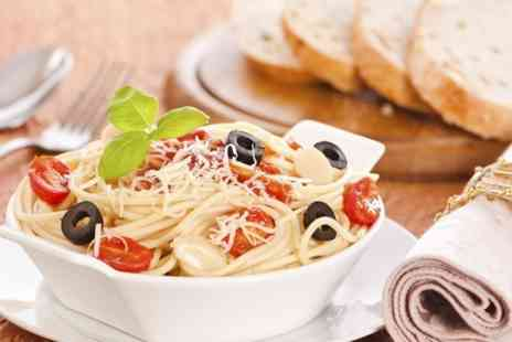 Amore Libero - Two Course Pizza or Pasta Meal For Two  - Save 57%