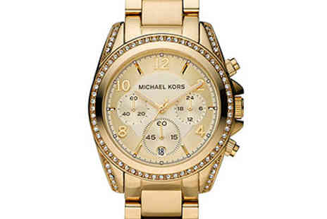 Sydney  Trading  - Michael Kors Womens Gold Plated Watch - Save 48%