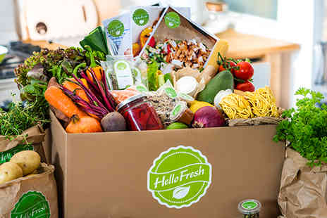 HelloFresh - Chef Inspired Recipes with Exact Fresh Ingredients  - Save 50%