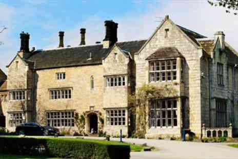 Monk Fryston Hall Hotel - Delightful 12th Century Manor Lunch & Wine for 2 - Save 41%
