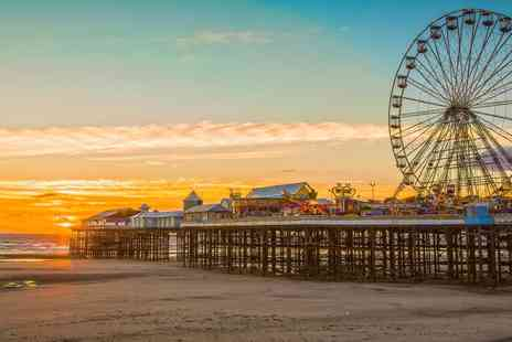 The Big Blue Hotel - Blackpool Getaway including Pleasure Beach Wristbands - Save 39%