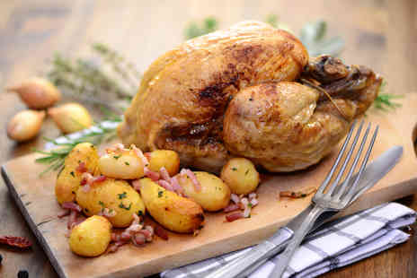 Pilot Restaurant - Rotisserie chicken to share between Two - Save 50%
