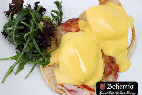 Bohemia Brighton - Breakfast and a Glass of Bubbly for Two - Save 52%