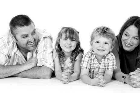 Hammonds Photography Studio - Family Photoshoot With Framed Print Plus Key Rings or Magnets - Save 88%