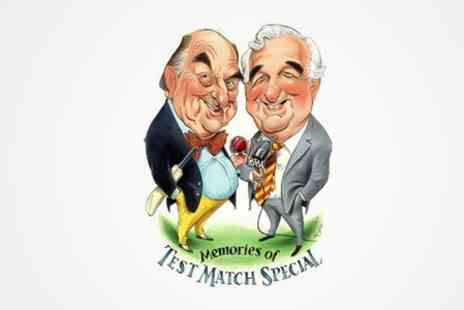 Test Match Special - Blofeld and Baxter Memories of Test Match Special Ticket  - Save 23%