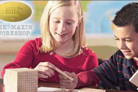 The Maxim Workshop - Maths classes & Assessments  - Save 50%