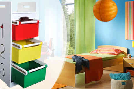 Einfeld - Colourful Toy Storage Chest of Drawers for Kids - Save 47%