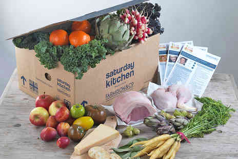 Farmison - Saturday Kitchen Exclusive Monthly Recipe Box - Save 37%