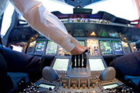 Flight Simulators Midlands - Boeing 747 Flight Simulation Experience for One - Save 53%