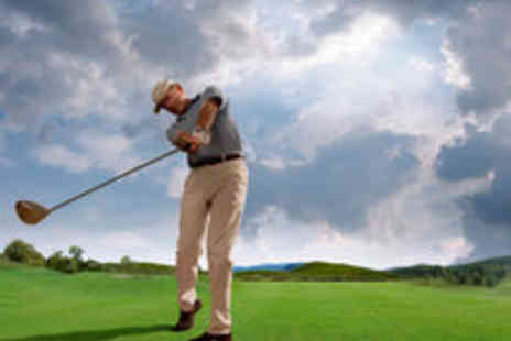 Optimal Swing Clinic - Power Golf Programme with Analysis, Lesson and Treatment for One - Save 87%