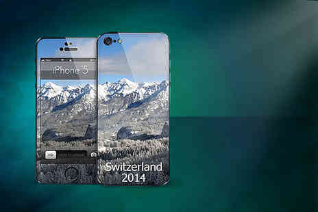 Skinz - Two personalised phone skins - Save 62%