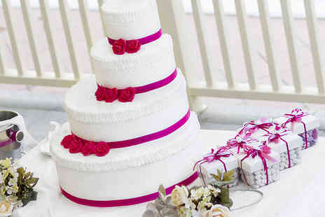 ButtercupCakes - Four tier square wedding cake - Save 58%