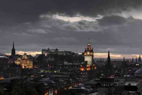 Thistle Knights Tours - 45min paranormal ghost tour of Edinburgh for two - Save 70%