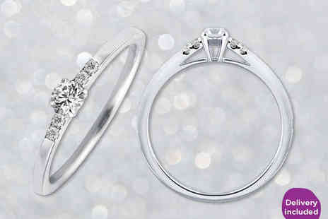 Your New Best Friend - Solitaire Diamond Ring - Save 71%