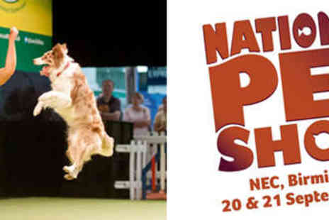 The National Pet Show - Child Ticket to The National Pet Show - Save 35%