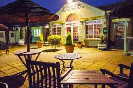 Chilton Country Pub and Hotel - One Night Stay With Breakfast and Sparkling Wine  - Save 50%