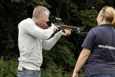 On Targett Events - Archery, Crossbow and Axe Throwing Experience - Save 56%