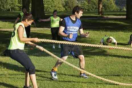 UK Outdoor Fitness - Boot Camp Unlimited Sessions For Two - Save 63%