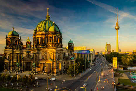 Enjoy Holiday - Two night Berlin break with breakfast and return flights - Save 57%