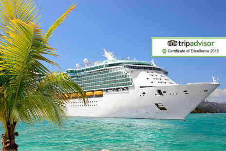 118 Cruise - Seven night full board Caribbean cruise all inclusive and flights - Save 16%